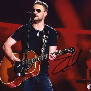 Eric Church Autographed 8x10 Photograph